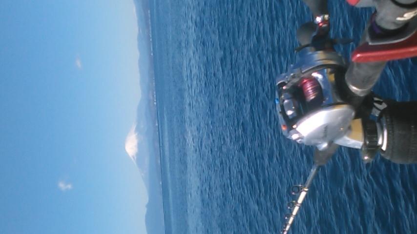今日の釣りしながらの景色!