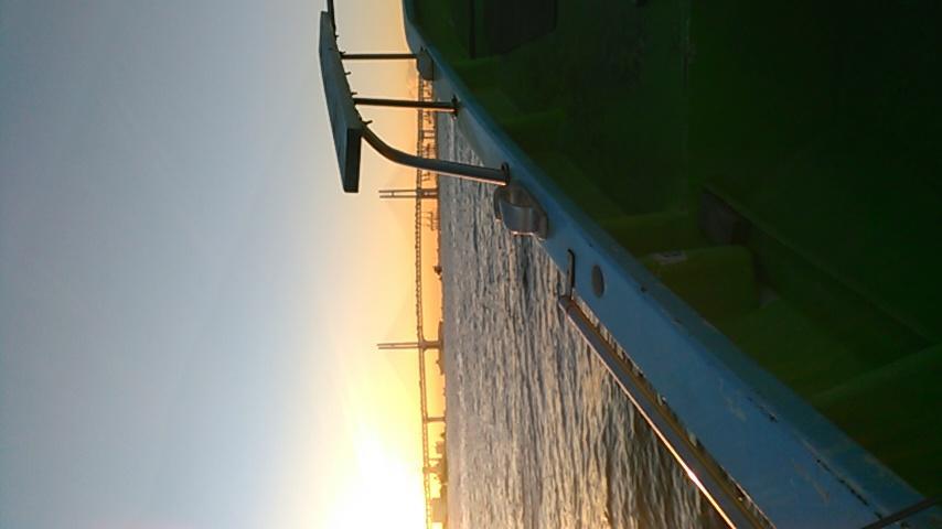 今日は東京湾でキス釣りですf(^_^;