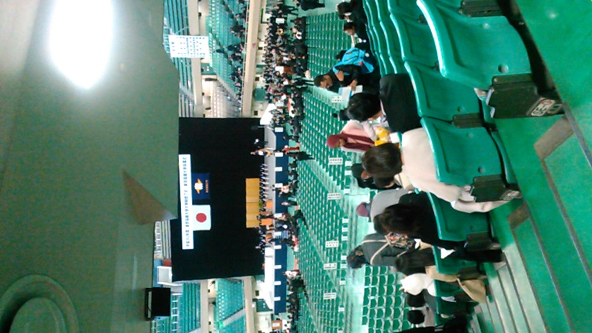 卒業式(^o^)